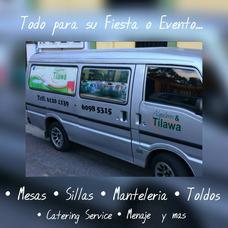 Alquiler Mesas Sillas Mantelería Transporte Gratis Alredores
