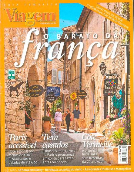Revista Guia França Viagem O Barato Da França Editora Abril