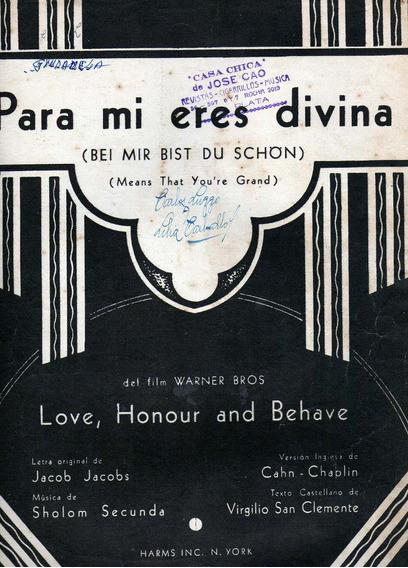 Antiguas Partituras Musicales ¡muy Buen Estado!