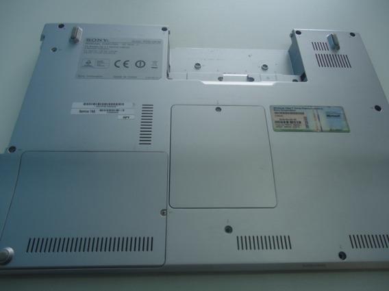 Carcaça Inferior Para Sony Vaio Vgn-fz