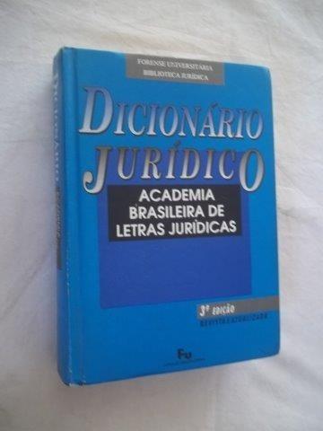* Livro - Dicionario Juridico - Direito