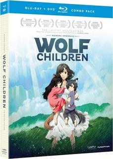 Wolf Children Niños Lobo Pelicula Importada En Blu-ray + Dvd