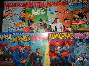 Mandrake Extra Nº 05 - Editora Globo - Formatinho - Cores