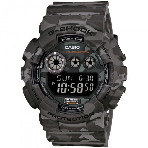Relógio Casio Gd-120cm-8dr G-shock Camuflado - Refinado