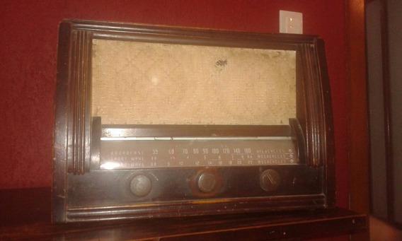 Rádio Antigo Funcionando, 110w, Valvulado Valor 650,00 Reais