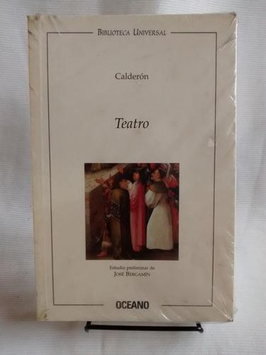 Imagen 1 de 3 de Teatro Calderon Ed. Oceano Biblioteca Universal 1999