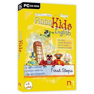 Juego Pc Robokids English First Steps - Aprender Ingles Htg