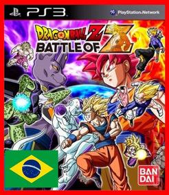 Dragon Ball Z Battle Of Z Ps3 Psn Portugues Br Promocao