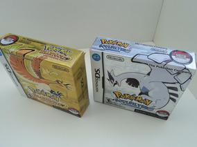 Super Box - Pokemon Heart Gold + Pokemon Soul Silver Ds /3ds