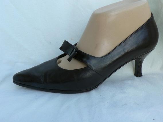 Zapato Fino Ferraro Cuero Nº 37 37.5 Fortu13