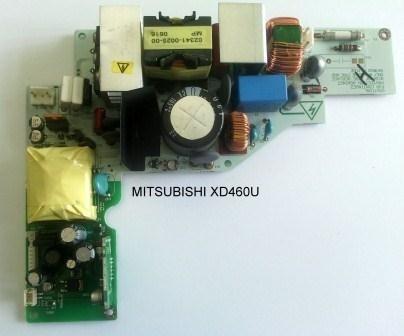 Placa Da Fonte Mitsubishi Xd460u