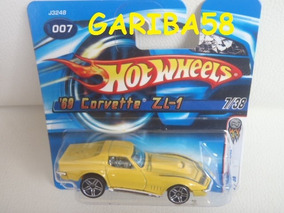 R$18 No Lote Hot Wheels ´69 Corvette Zl-1 2006 Gariba58
