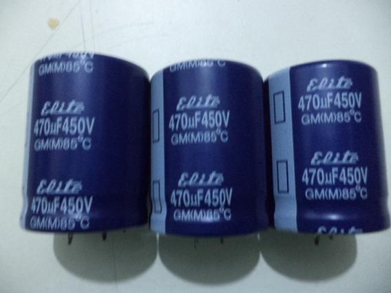 Capacitor Eletrolitico 470uf450v 85c