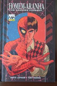 Homem Aranha Com Grandes Poderes Marvel Panini Capa Dura