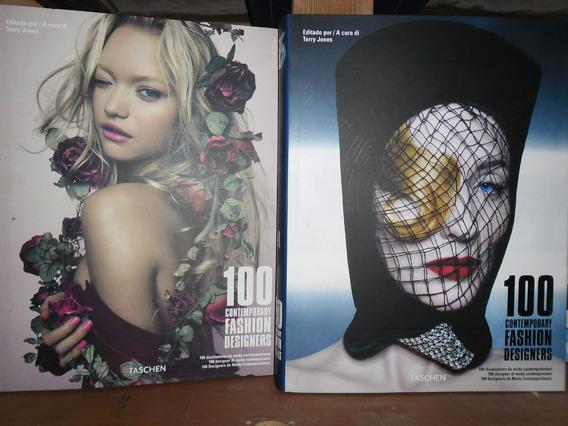 100 Contemporary Fashion Designers -livro Box 2 Volumes