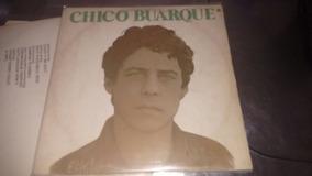 Disco Vinil Chico Buarque Vida Lp 1980 C/ Encarte Plásticos
