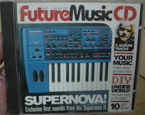 Cdrom Future Music - Janeiro 2001 - B290