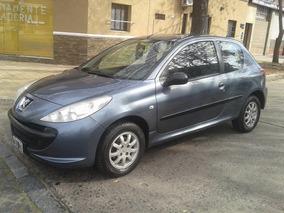 Peugeot 207 Compact 1.4 Xr 3 Puertas 2009 Azul