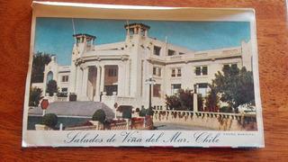 Antigua Postal De Viña