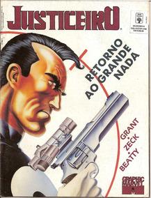 Graphic Marvel #6 Justiceiro Retorno Ao Grande Nada