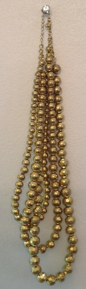 Colar Feminino Dourado - C.574