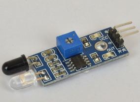Modulo Sensor Obstáculo Infravermelho Reflexão Lm393 Arduino