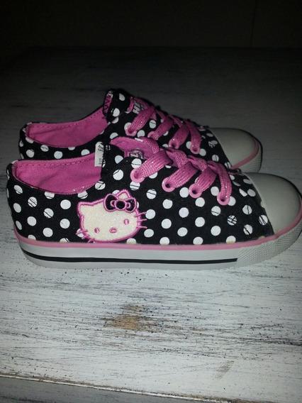 Hello Kitty Zapatillas De Nena Talle 29
