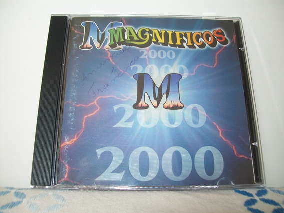 Cd - Banda Magnificos - 2000