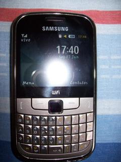 Smartphon Samsung Gt-s3350 1chip Apenas Peça Envio T.brasil
