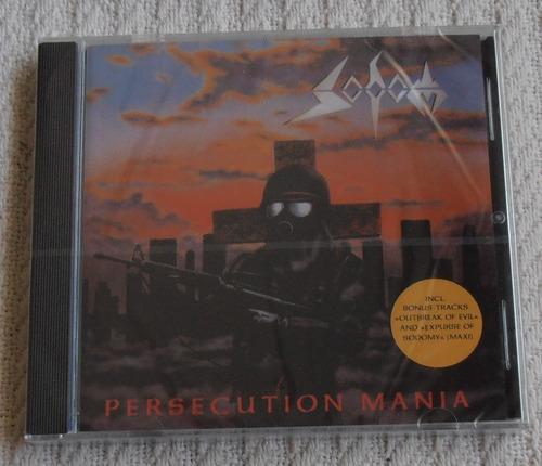 Sodom - Persecution Mania ( C D Ed. Europa Nuevo)