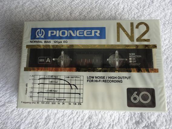 Pioneer N2 60 Tipo I Normal Fita Cassete Japão Lacrado -zero