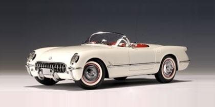 Chevrolet Corvette 1953 - Primer Corvette - Autoart 1/18