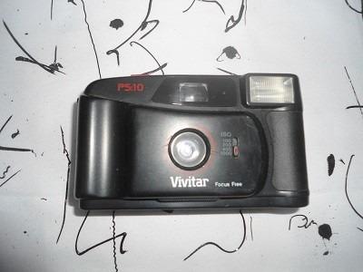 Camera Vivitar Ps10 35mm Antiga Coleção