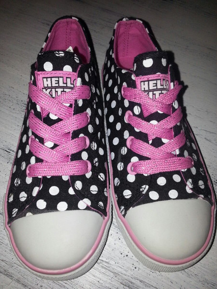 Hello Kitty Zapatillas De Nena Talle 29