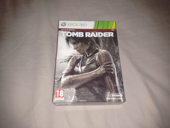 Tomb Raider Survival Edition Xbox360 Original