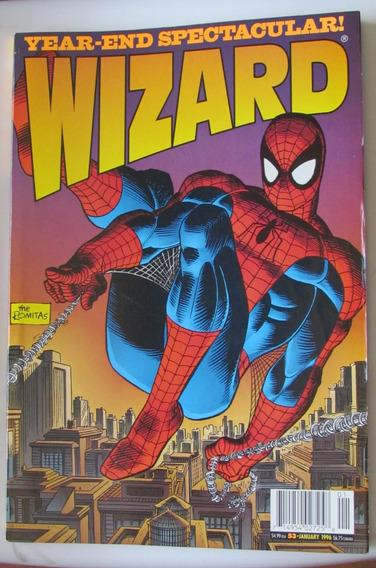 Wizard No 53 - Homem-aranha