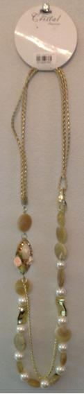Colar Feminino Dourado - C.569