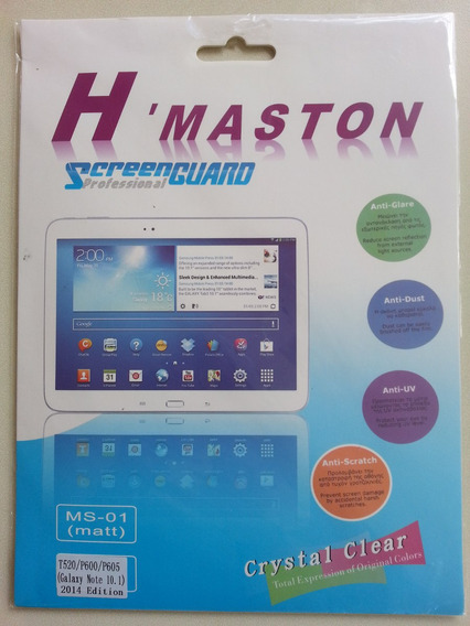 Película Protetora Tablet Samsung 10.1 Polegadas