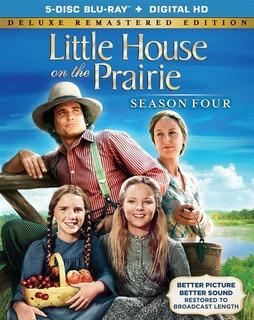 Blu-ray Little House On The Prairie / Familia Ingalls Temp 4