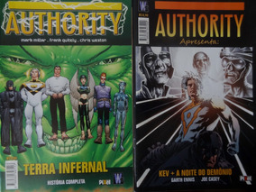 Lote Hq Authority - 5 Edições