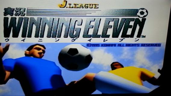 Jogo Ps One Winning Eleven Envio Cr