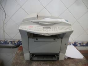Impressora Multifuncional Oki B4545 Mfp Funcionando Usada