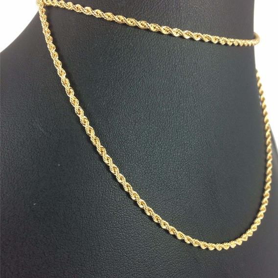 Cordão Ouro 18k Masculino Corrente Colar Original Garantia