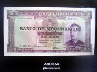 Billete Mozambique + Fasciculo