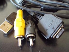 Cabo De Dados E De Video Camera Digital Sony