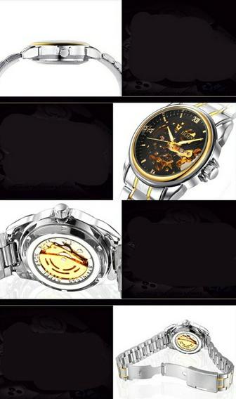 Relógio Esqueleto Import