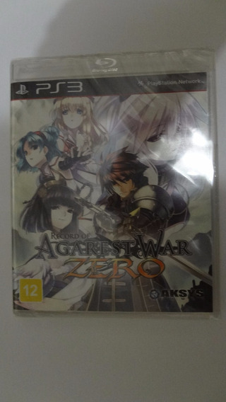 Record Of Agarest War Zero Ps3 - Novo E Lacrado