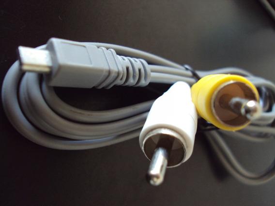 Cabo Micro Usb P/ Av Câmera Digital