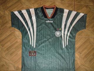 Camisa Da Seleção Alemã Verde Copa De 1986