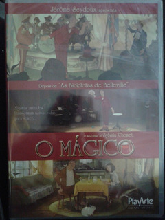 Dvd O Mágico - Sylvain Chomet